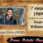 7 maja zm. Guy Williams PL Diego Zorro