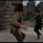 Montoya vs Pirate (The princess bride - 1987)