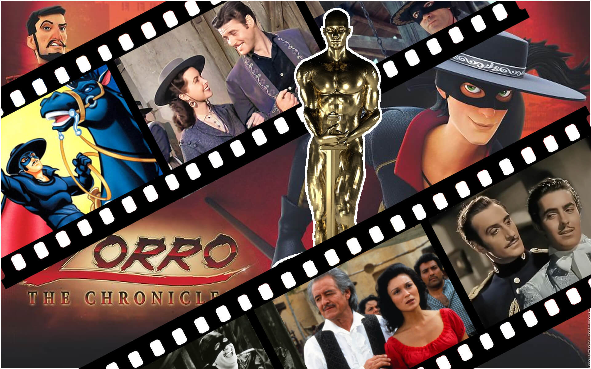 Zorro oskary Zorro nagrody dla twórców, filmów i seriali