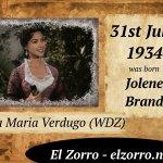 31 lipca ur. Jolene Brand ENG