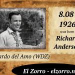 8 sierpnia ur. Richard Anderson ENG
