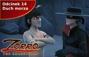 Kroniki Zorro odcinek 14 Duch morza