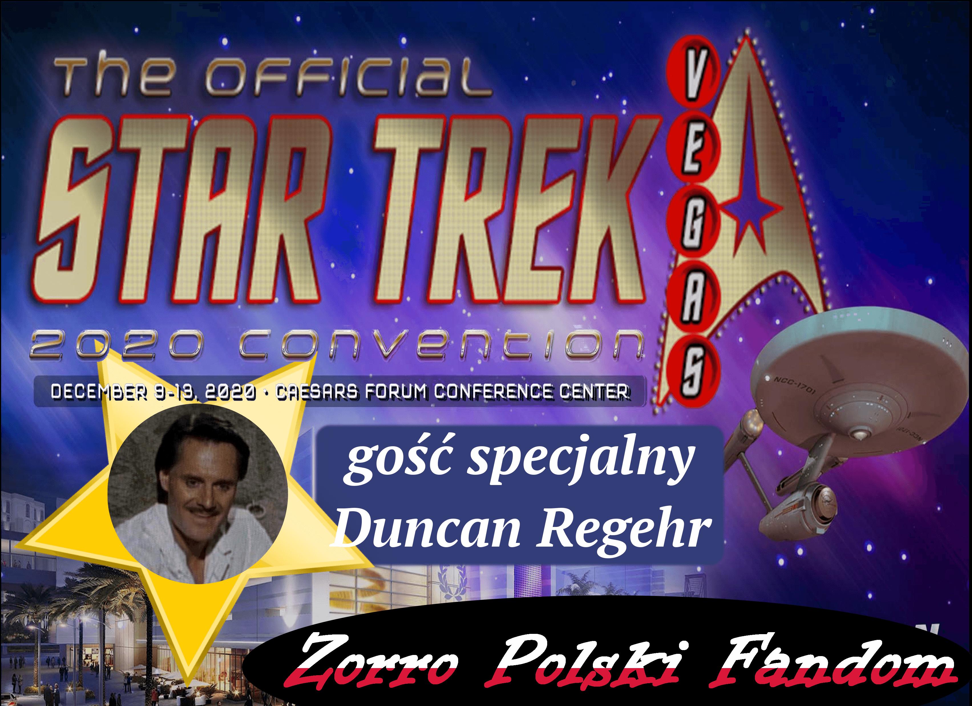 STAR TREK Celebration in Las Vegas 2020 PL Duncan Regehr