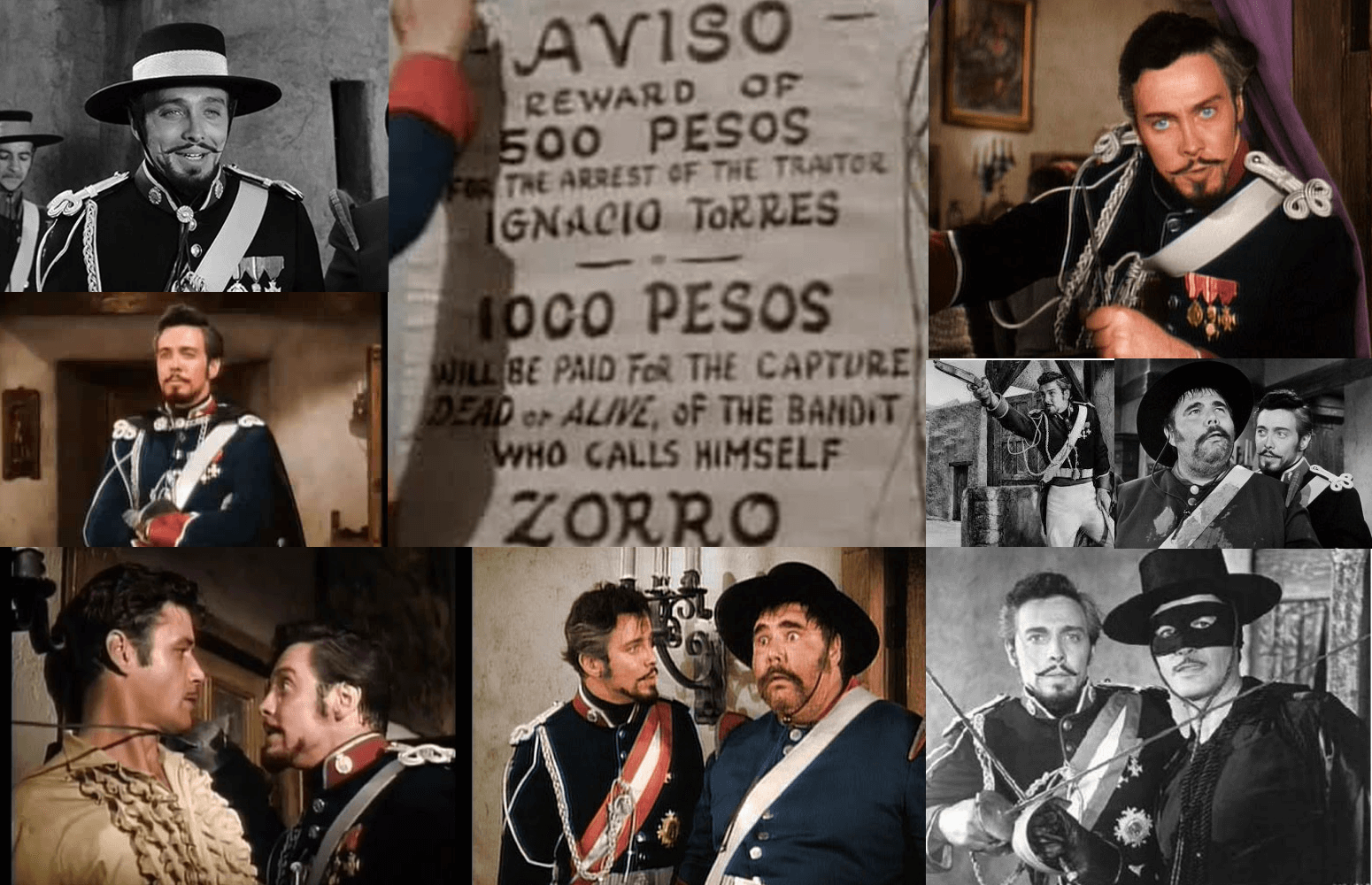 Niuanse i odcienie Enrique Monastario Zorro Disney