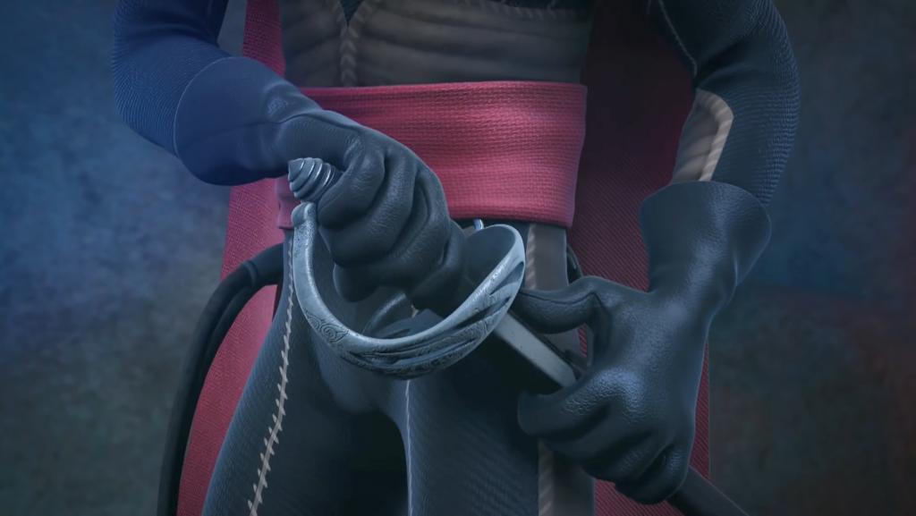 02 - Szpada Zorro, broń Zorro - Kroniki Zorro szpada