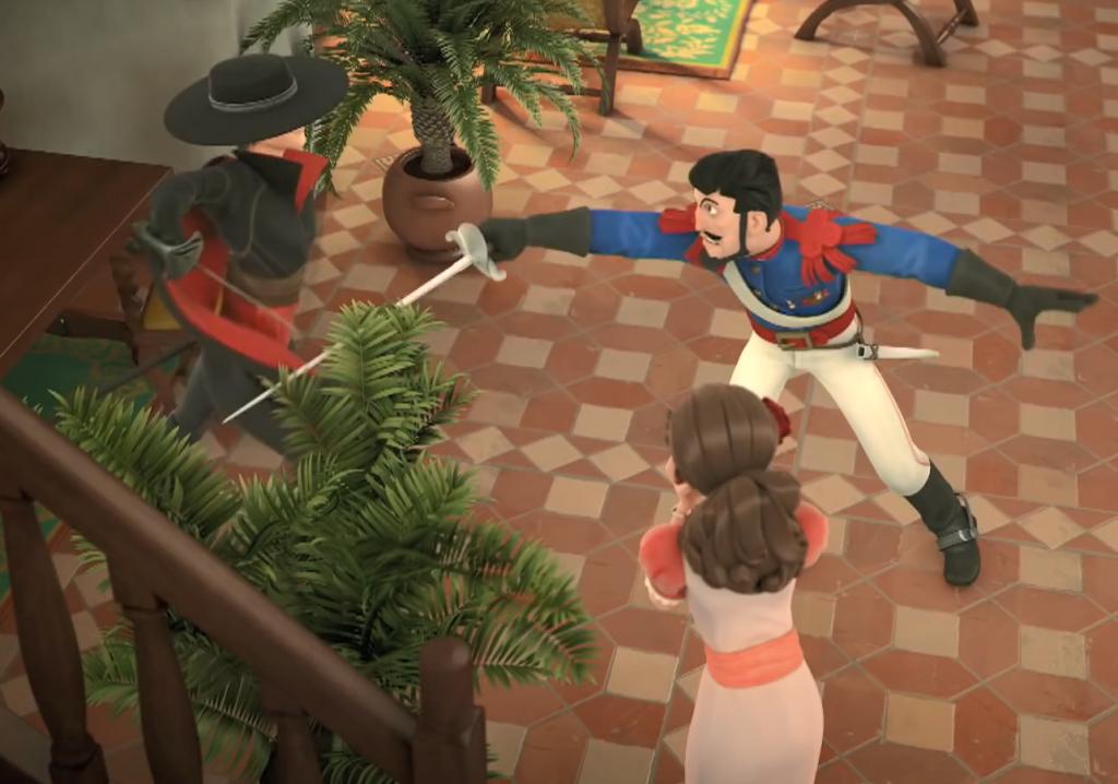 04 - pojedynek Zorro z Monasterio