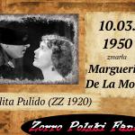 10 marca zm. Marguerite De La Motte PL