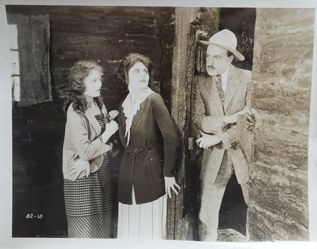 Claire Adams, Eugenia Gilbert, and Robert McKim in Man of the Forest (1921)