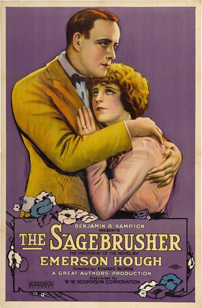 Marguerite De La Motte and Roy Stewart in The Sagebrusher (1920)