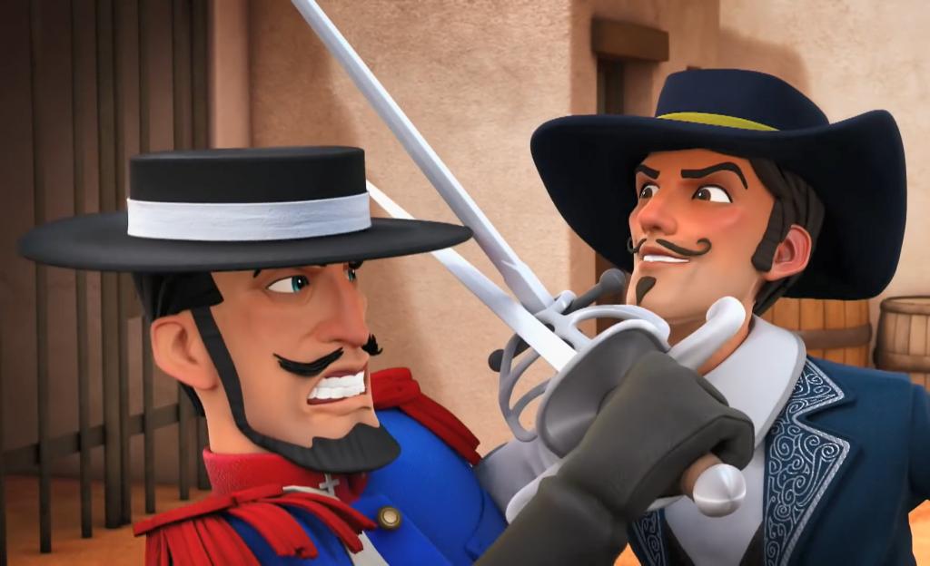 05 pojedynki Zorro - Monasterio i Ramirez