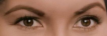 Anna Maria Zorro oczy
