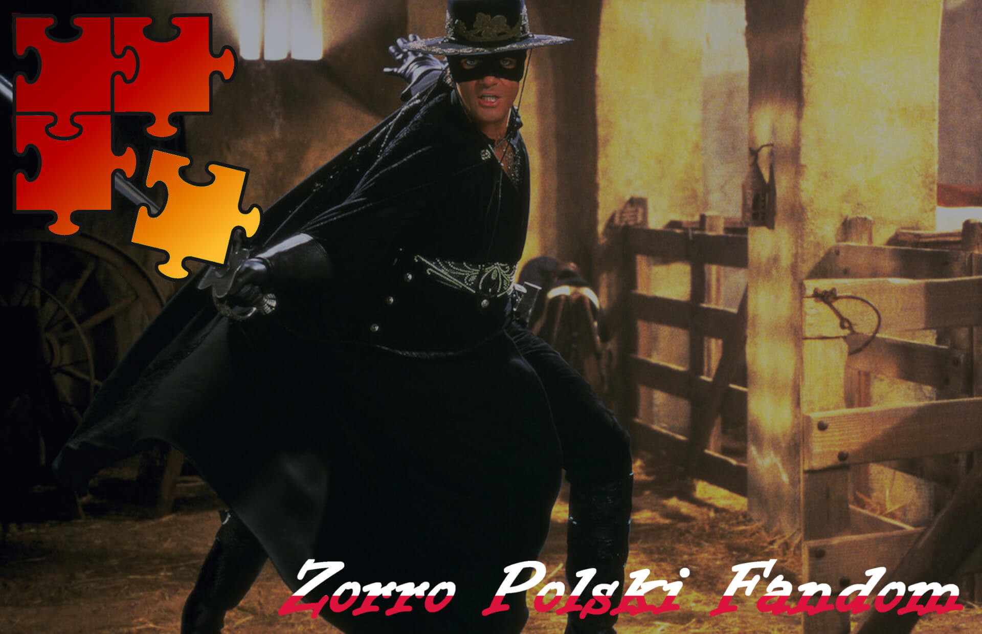 Jigsaw Puzzle Zorro Mask of Zorro - Zorro PL