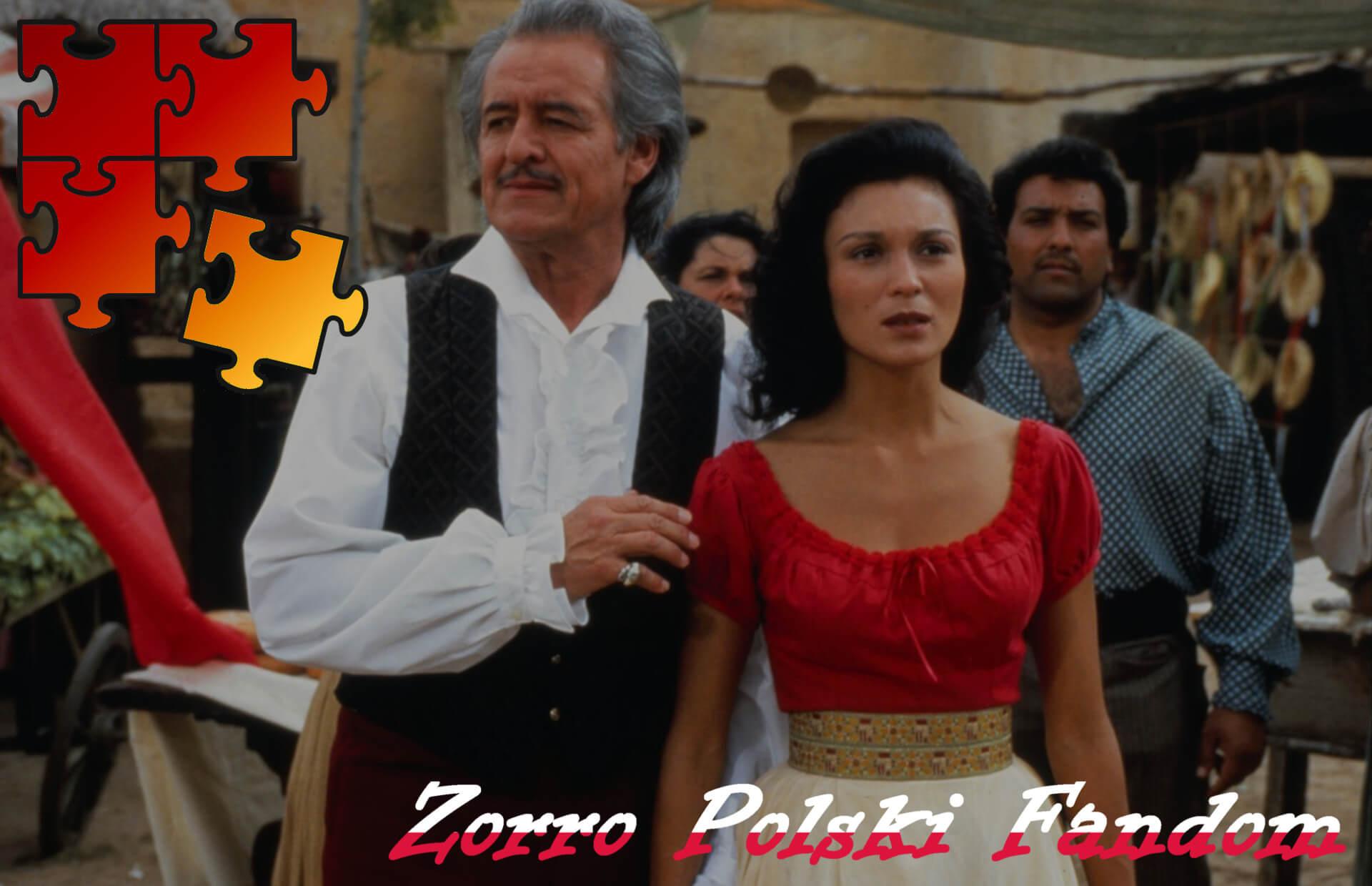Jigsaw Puzzle Zorro New World Zorro - Alejandro i Victoria PL