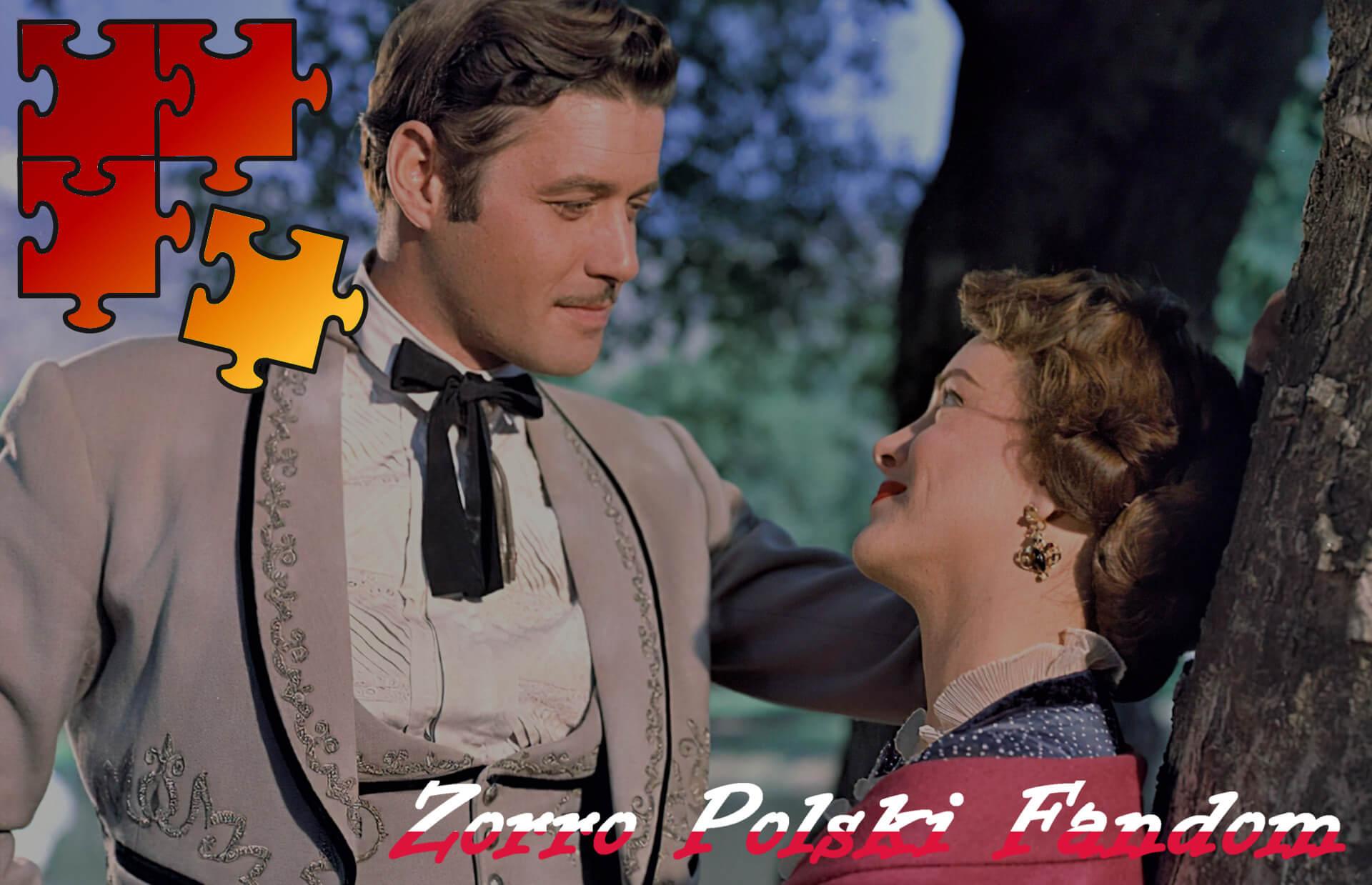 Jigsaw Puzzle Zorro Walt Disney Zorro - Diego and Magdalena Montes PL