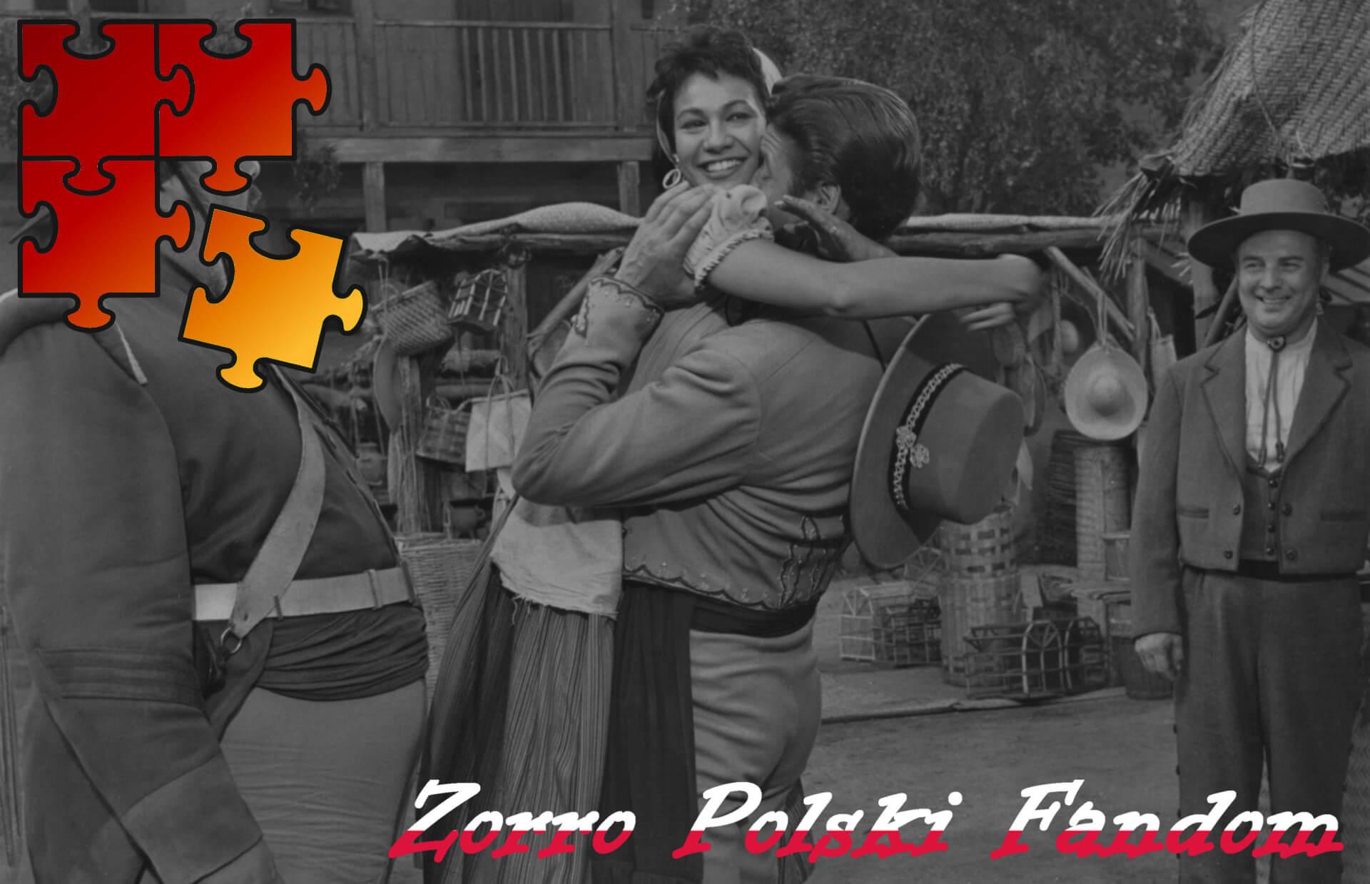 Jigsaw Puzzle Zorro Walt Disney Zorro - Diego and Teresa PL