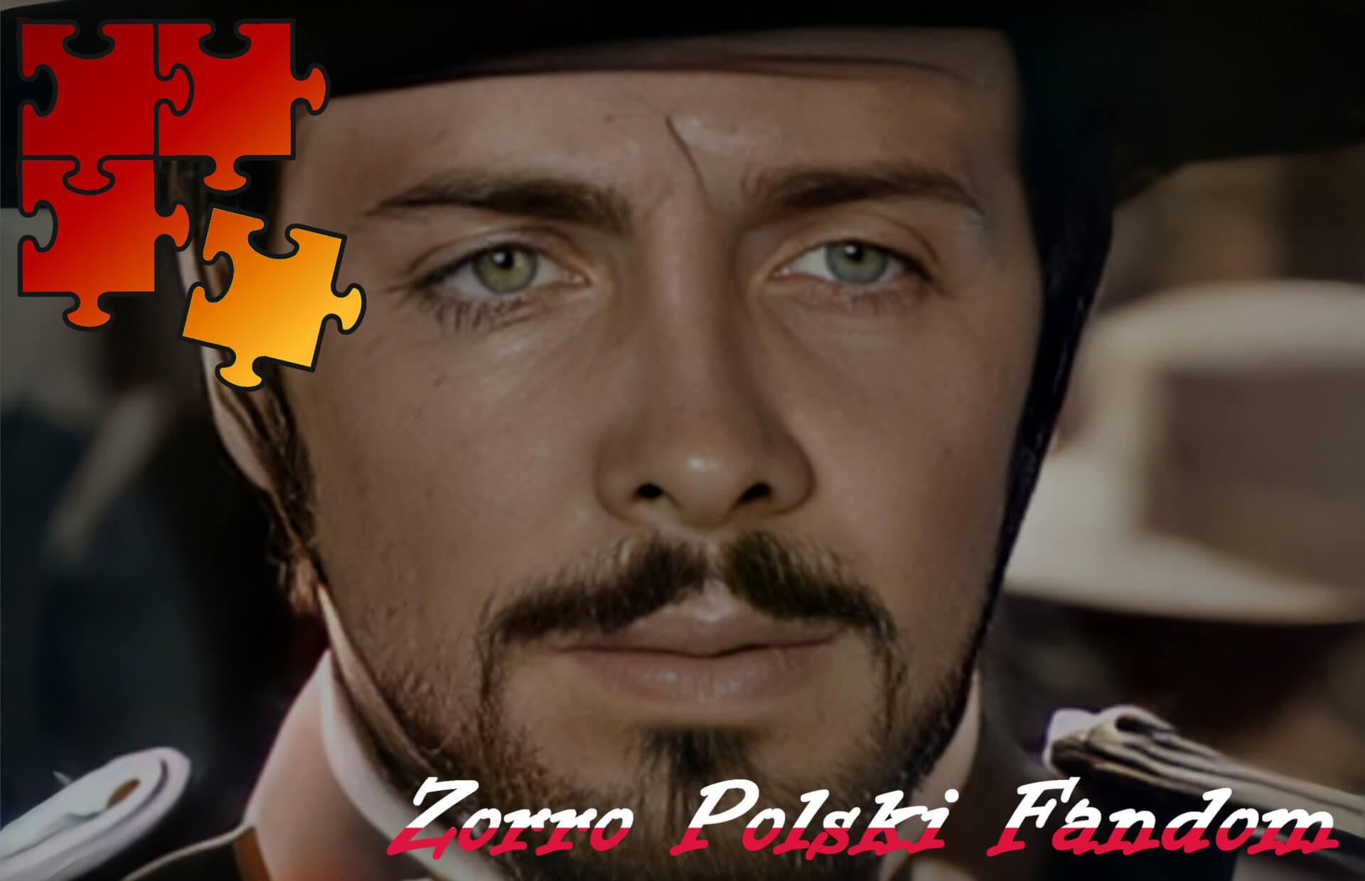 Jigsaw Puzzle Zorro Walt Disney Zorro - Monastario PL