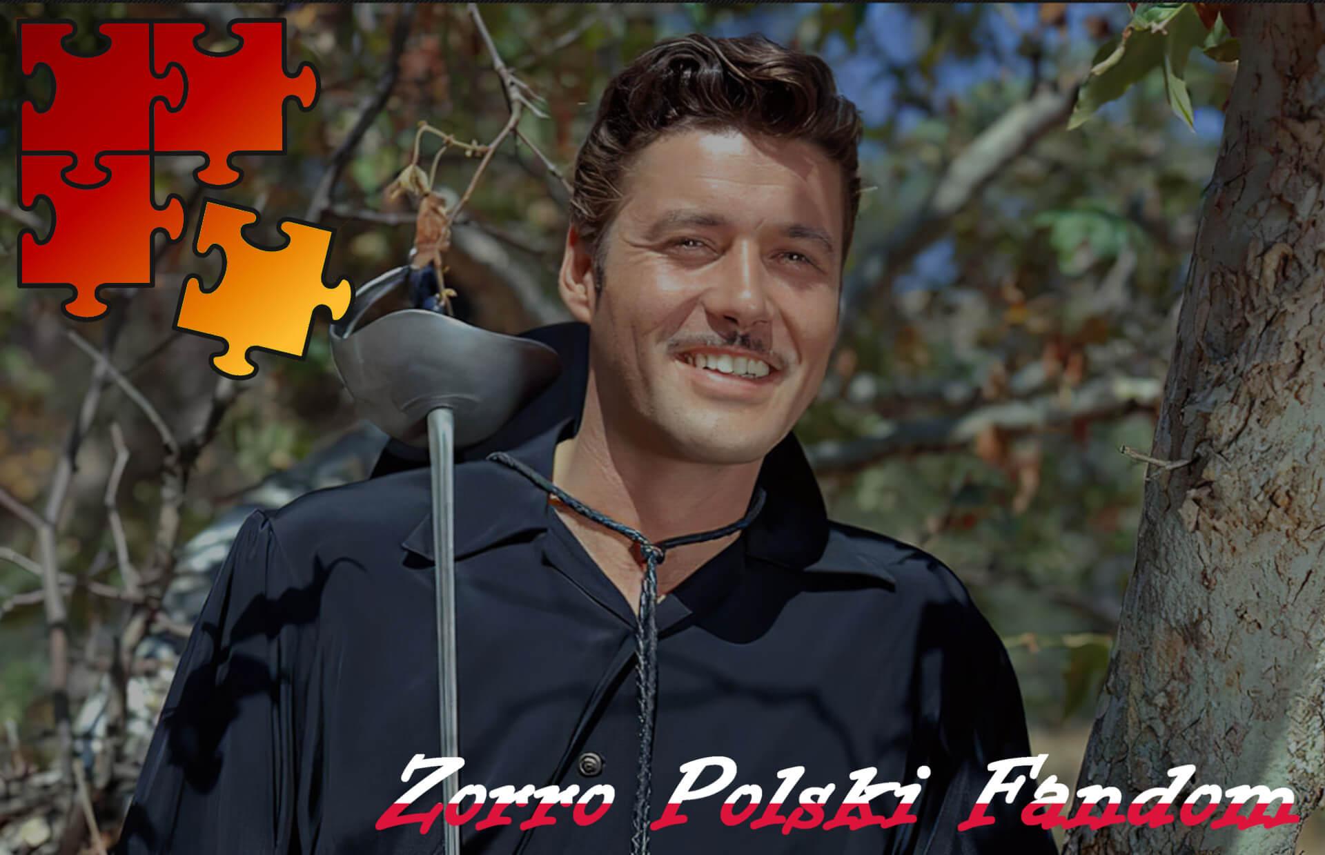 Jigsaw Puzzle Zorro Walt Disney Zorro - Zorro bez maski ENG