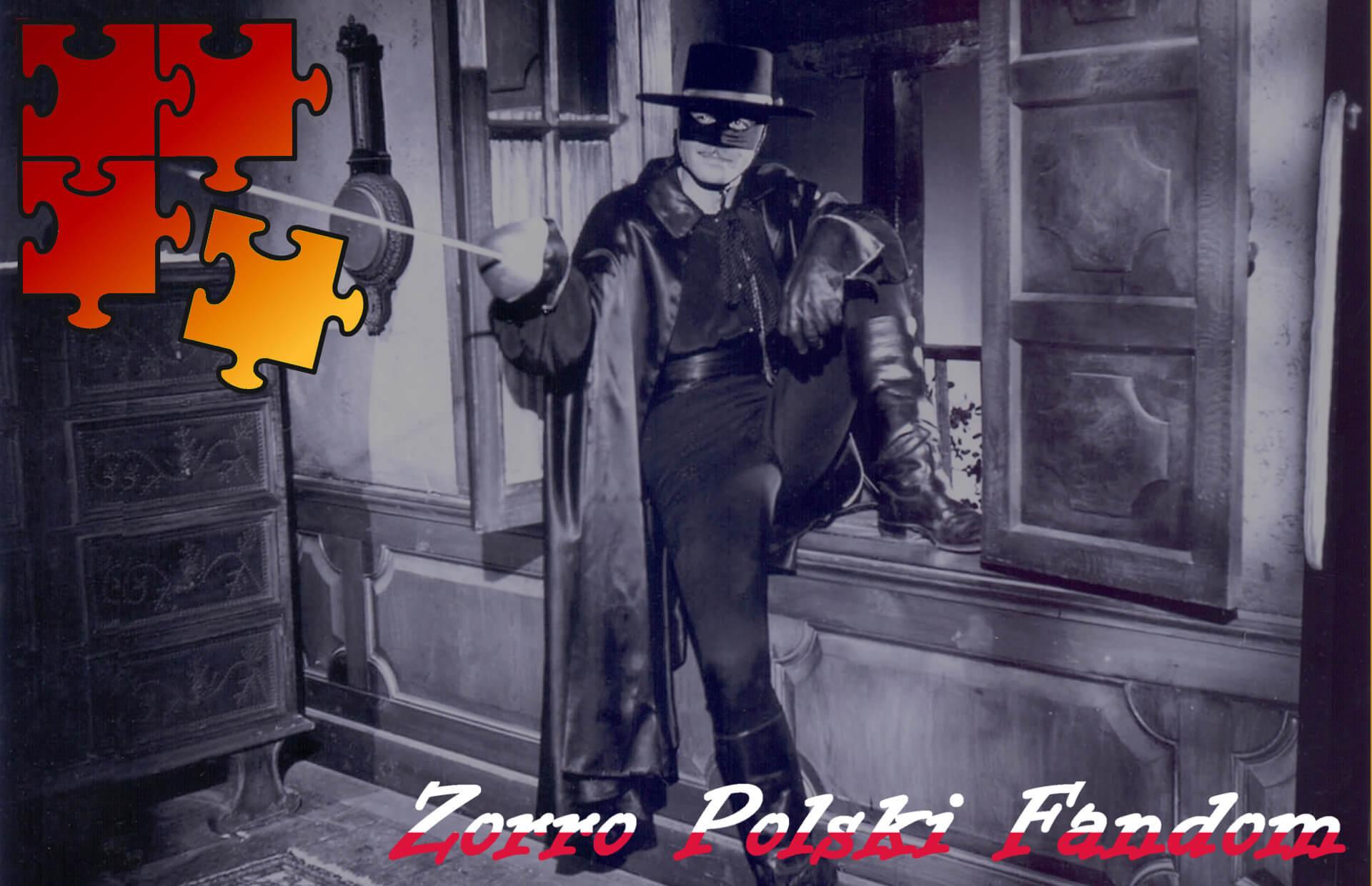 Jigsaw Puzzle Zorro Walt Disney Zorro - Zorro na parapecie 3 PL