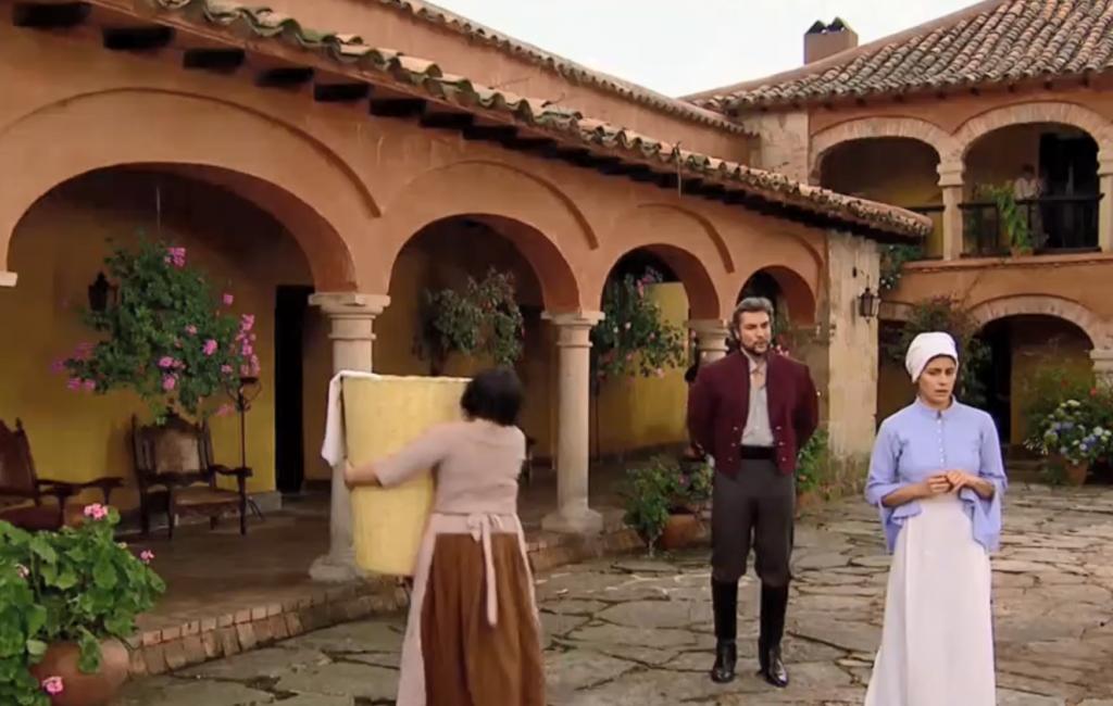 El Zorro, la Espada y la Rosa telenowela Zorro odcinek 1 - Alejandro i Maria Pia