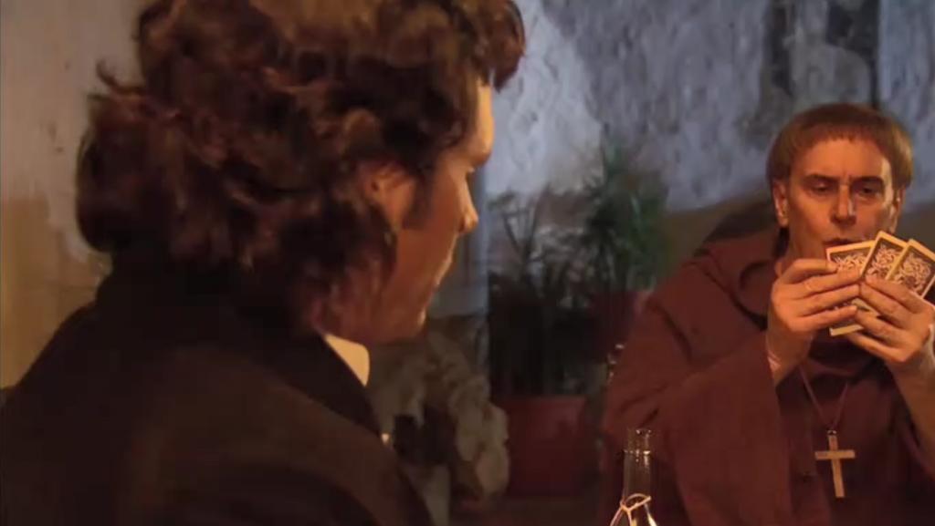 El Zorro, la Espada y la Rosa telenowela Zorro odcinek 1 - Diego i ojciec Tomas
