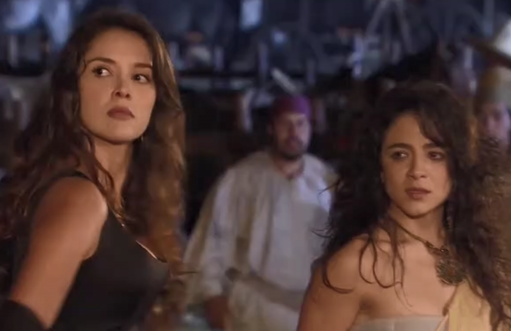 El Zorro, la Espada y la Rosa telenowela Zorro odcinek 1 - Esmeralda i Laisha