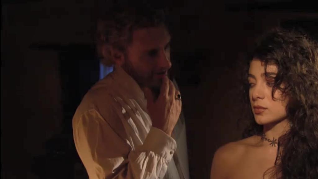 El Zorro, la Espada y la Rosa telenowela Zorro odcinek 1 - Montero i Laisha