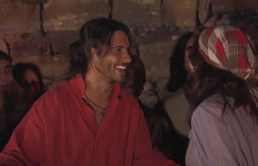 El Zorro, la Espada y la Rosa telenowela Zorro odcinek 1 - Renzo i Azucena
