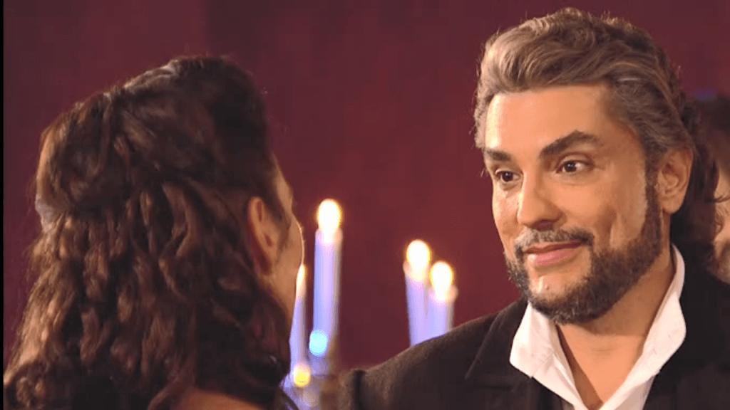 El Zorro, la Espada y la Rosa telenowela Zorro odcinek 2 - Alejandro i Almudena