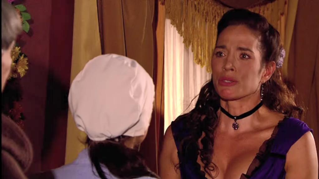 El Zorro, la Espada y la Rosa telenowela Zorro odcinek 2 - Almudena i Maria Pia