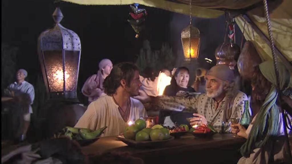 El Zorro, la Espada y la Rosa telenowela Zorro odcinek 2 - Cyganie