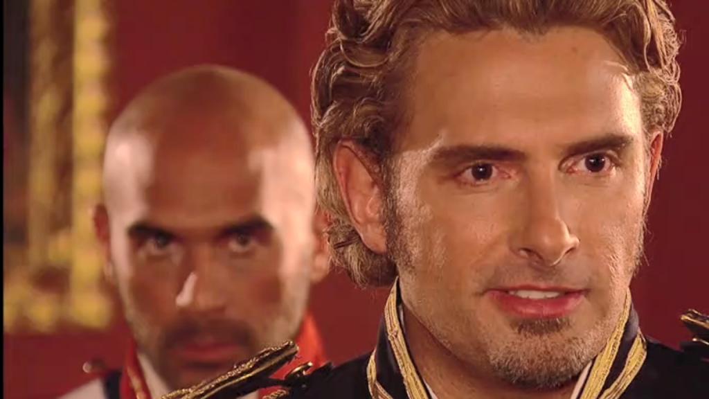 El Zorro, la Espada y la Rosa telenowela Zorro odcinek 2 - Monetro i Pizarro