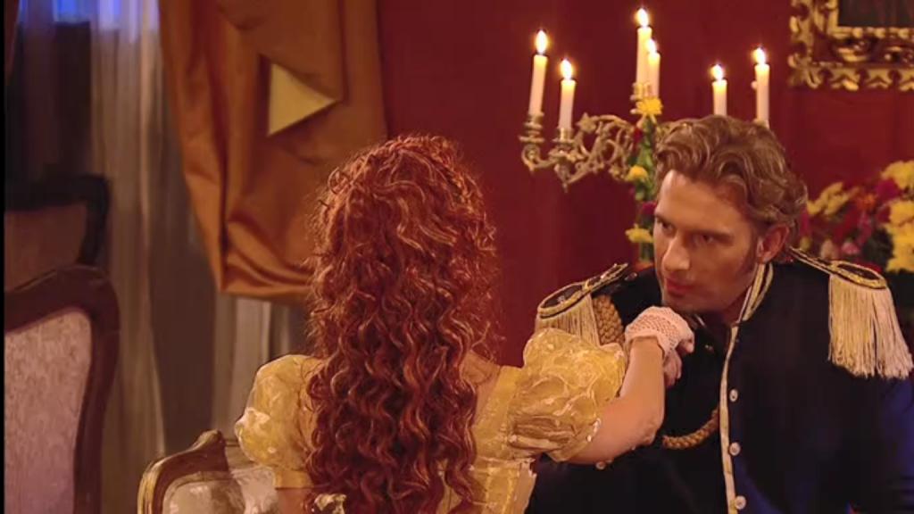 El Zorro, la Espada y la Rosa telenowela Zorro odcinek 2 - Montero i Mariangel