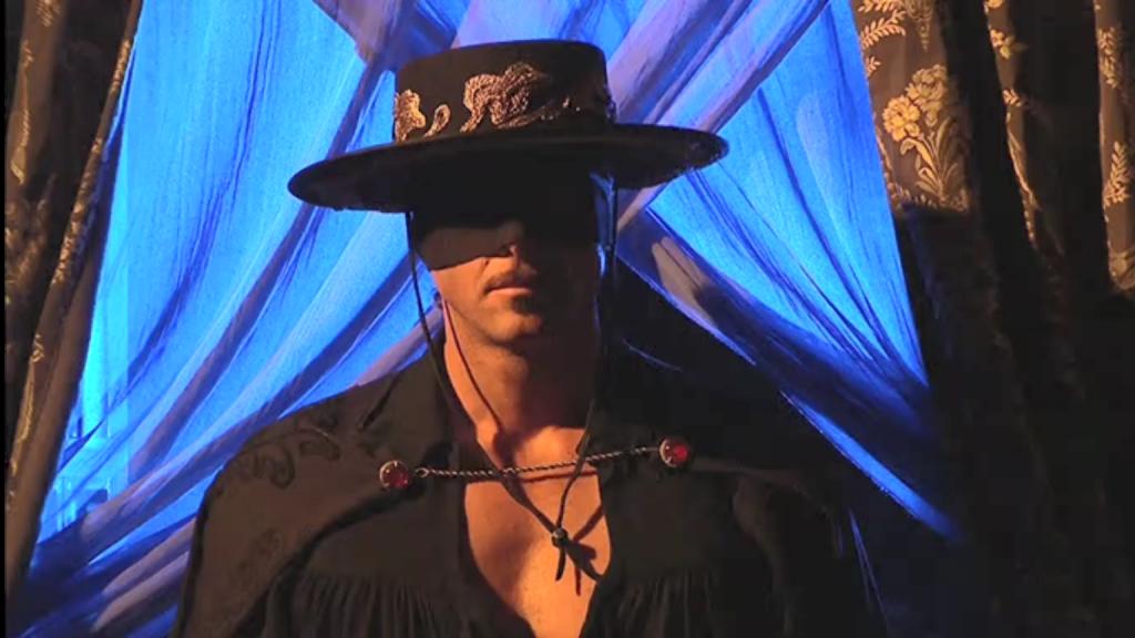 El Zorro, la Espada y la Rosa telenowela Zorro odcinek 2 - Zorro