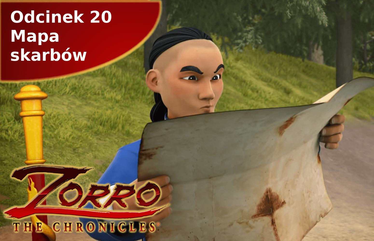 Kroniki Zorro odcinek 20 Mapa skarbów