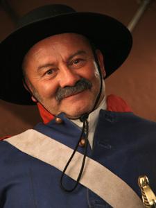 telenowela Zorro sierżant Juvenal Garcia
