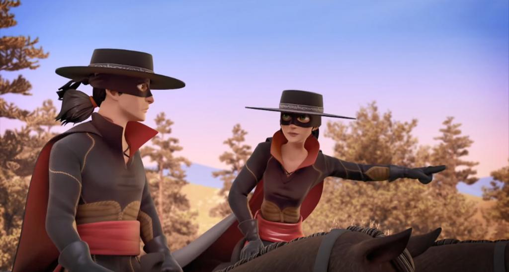 Kroniki Zorro odcinek 17 Susza Inez i Bernardo Zorro the Chronicles episode 17 Drought