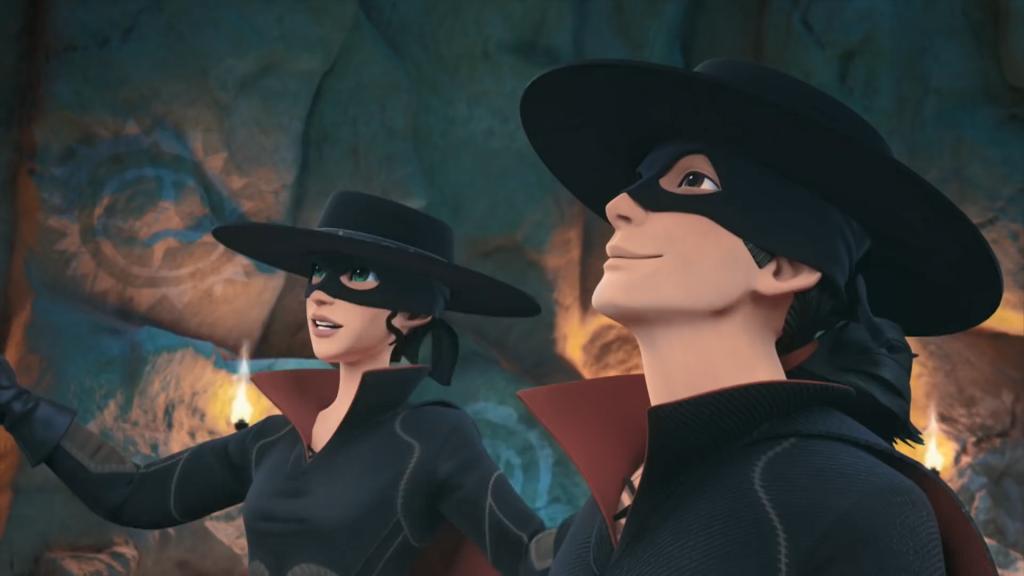 Kroniki Zorro odcinek 17 Susza Inez i Bernardo jako Zorro Zorro the Chronicles episode 17 Drought