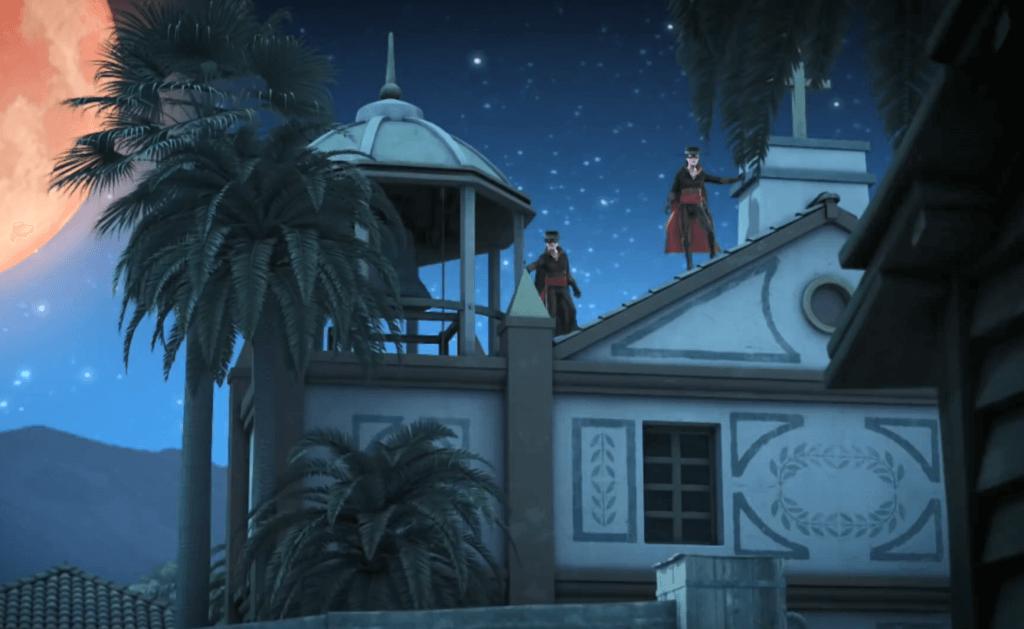 Kroniki Zorro odcinek 17 Susza Zorro x2 na dzwonnicy Zorro the Chronicles episode 17 Drought