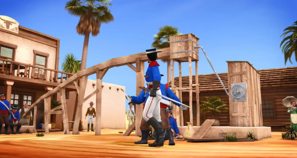 Kroniki Zorro odcinek 17 Susza akwedukt do gospody Zorro the Chronicles episode 17 Drought