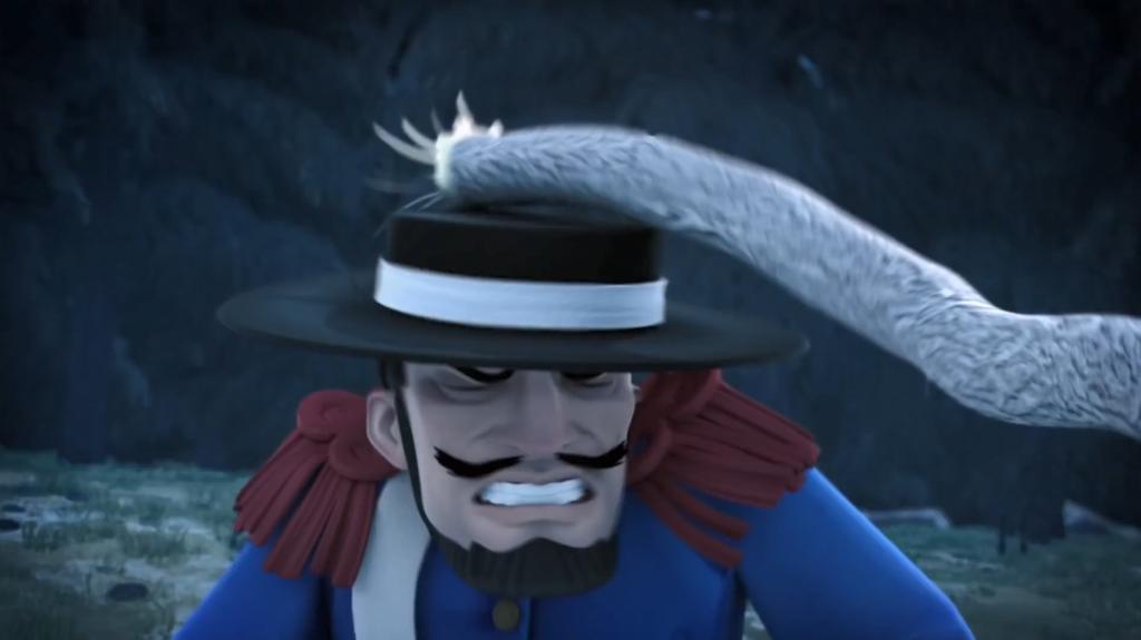 Kroniki Zorro odcinek 17 Susza nokaut Monasterio Zorro the Chronicles episode 17 Drought