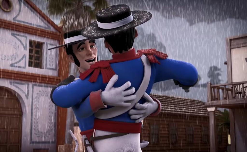 Kroniki Zorro odcinek 17 Susza taniec radości Zorro the Chronicles episode 17 Drought