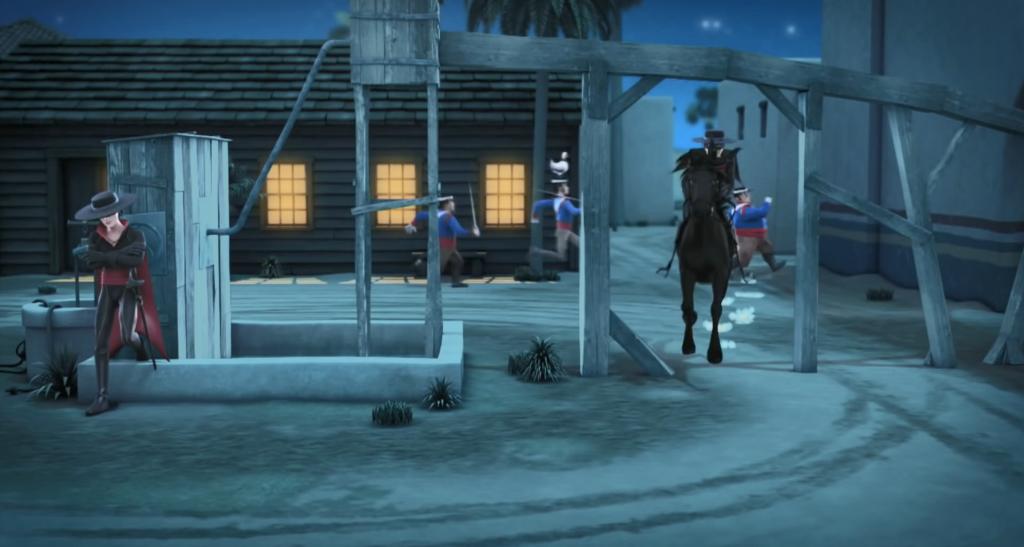 Kroniki Zorro odcinek 17 Susza ucieczka Zorro Zorro the Chronicles episode 17 Drought