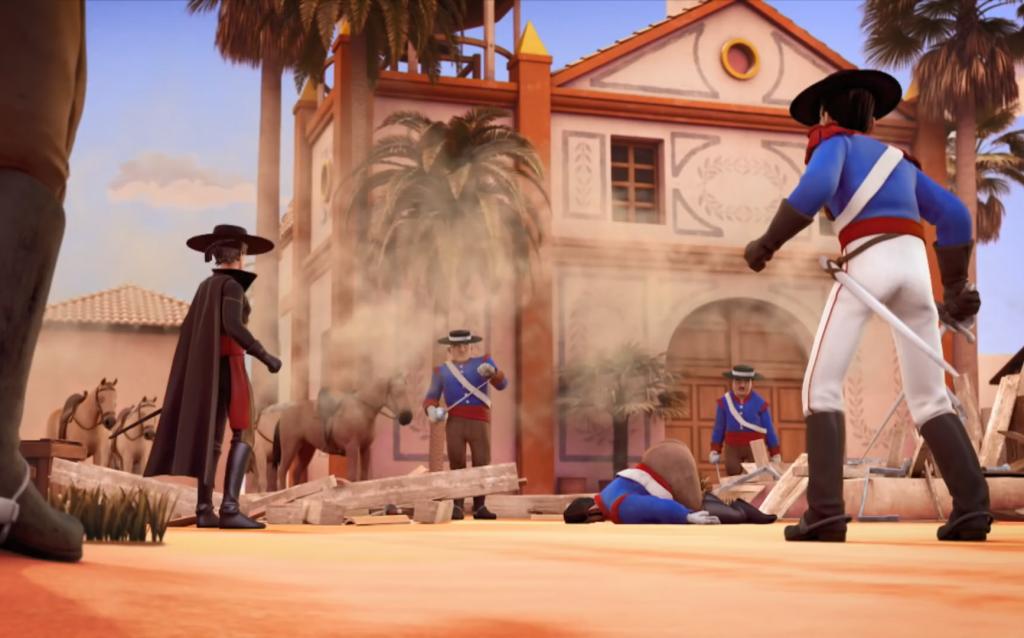 Kroniki Zorro odcinek 17 Susza upadek akweduktu Zorro the Chronicles episode 17 Drought