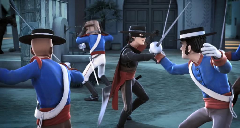 Kroniki Zorro odcinek 17 Susza walka przy akwedukcie Zorro the Chronicles episode 17 Drought