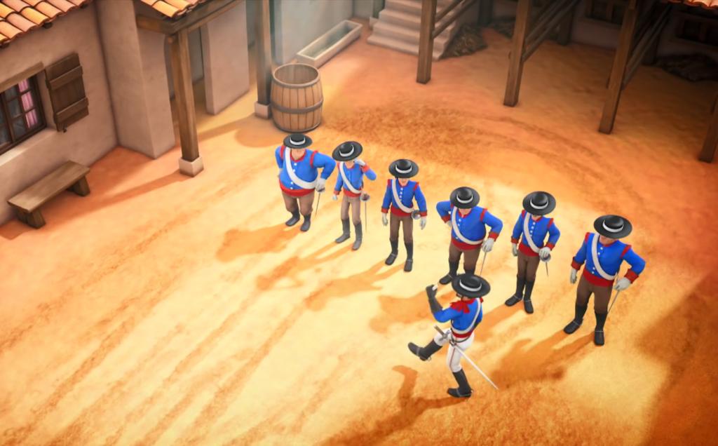 Kroniki Zorro odcinek 17 Susza zbiórka żołnierzy Zorro the Chronicles episode 17 Drought