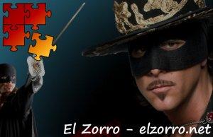 Jigsaw Puzzle El Zorro, la espada y la rosa - Zorro ENG Rompecabezas El Zorro, la espada y la rosa - Zorro