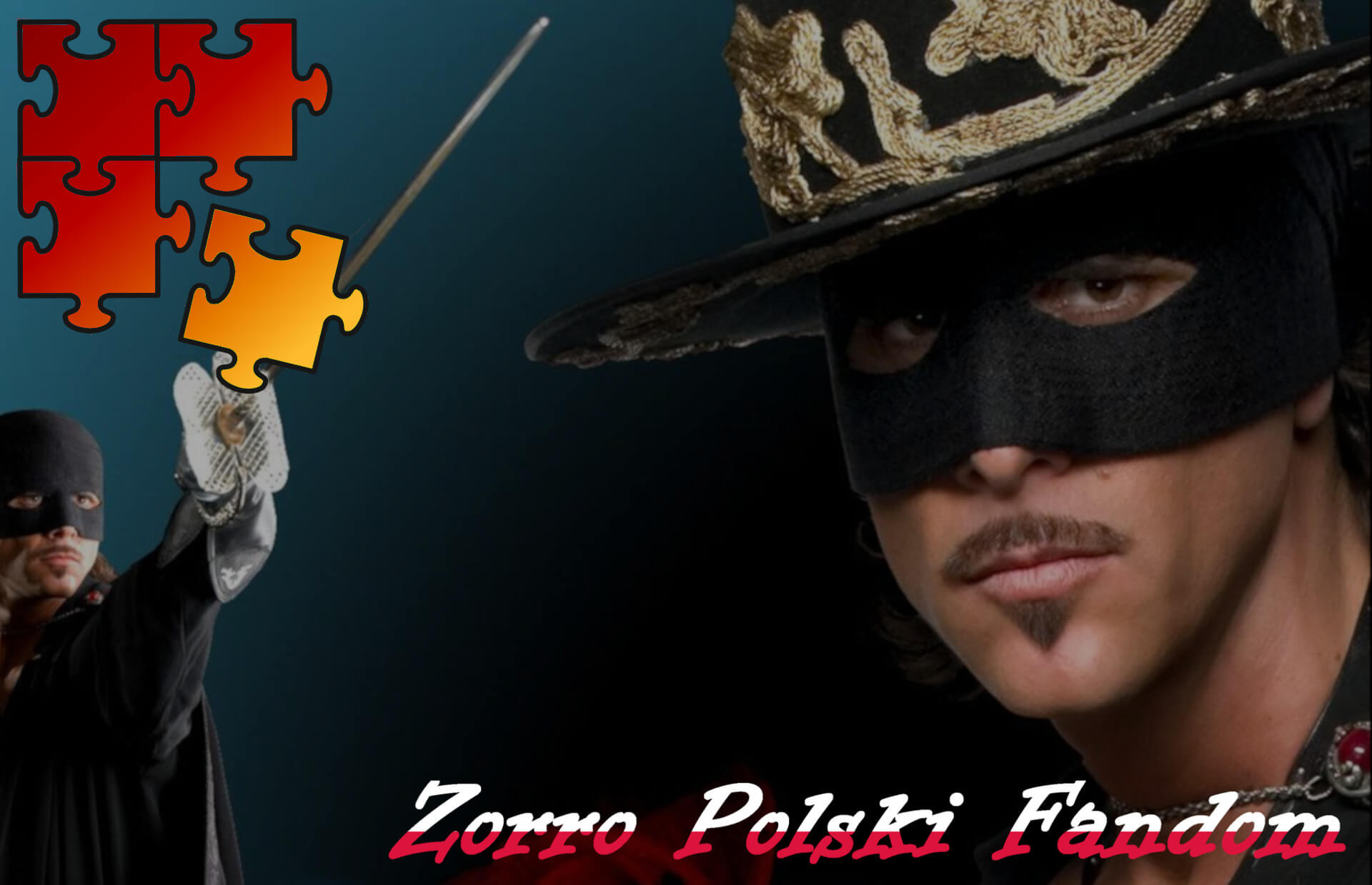 Jigsaw Puzzle El Zorro, la espada y la rosa - Zorro PL