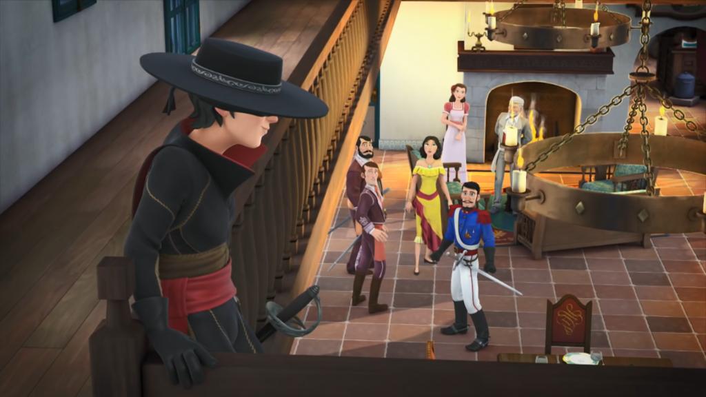 Kroniki Zorro odcinek 18 Pożądana dziedziczka Zorro wprasza się na ślub Zorro the Chronicles episode 18 The desirable heiress