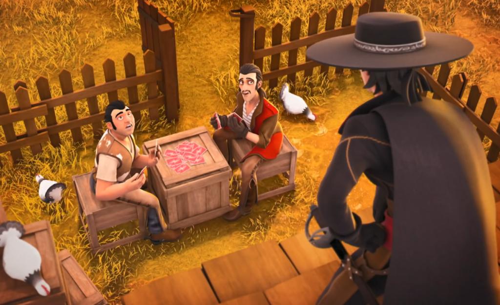 Kroniki Zorro odcinek 18 Pożądana dziedziczka Zorro zaskakuje La Ranę i Dentystę Zorro the Chronicles episode 18 The desirable heiress