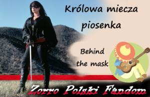 Królowa miecza piosenka Behind the Mask